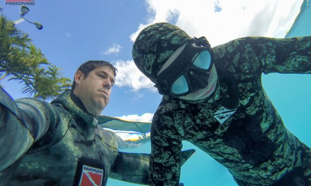 Learning how to properly equalize is critical to freediving spearfishing.