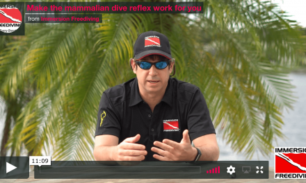 Learn more about the mammalian dive reflex