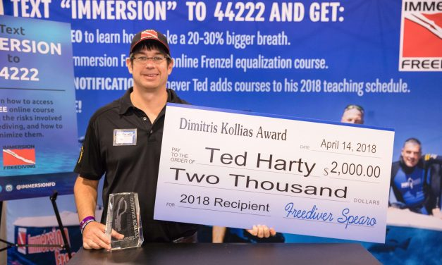 Ted Harty Awarded Dimitris Kollias Award